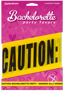 Bachelorette Party Favors Caution Tape Yellow 20 Feet